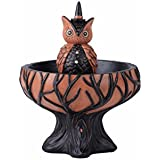 One Holiday Lane Vintage Retro Animal Halloween Candy Bowl Candy Dish On Stand Decoration (Owl)