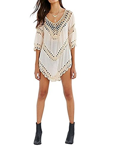 JOYEBUY-Sexy-Womens-Crochet-Hollow-Out-Swimwear-Beachwear-Bikini-Cover-ups
