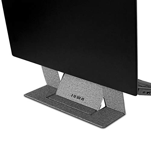 Portable Laptop Stand Foldable Invisible Computer Holder Stand 2 Angles Adjustable Anti-Slip for Apple MacBook Pro 13 15 Inch, MacBook Air, HP, Dell, Lenovo Thinkpad