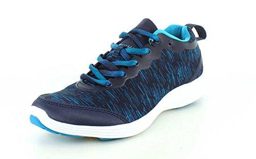 335FYN-NVY Vionic Womens Fyn Active Sneakers - Navy - 8.0 - M