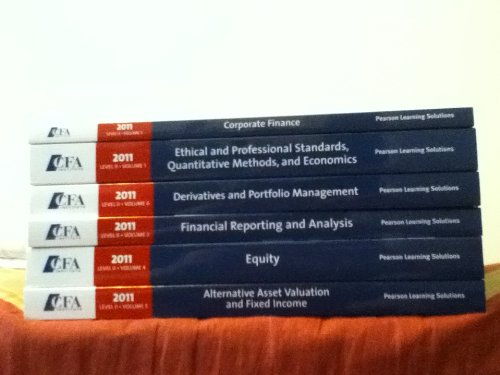 Download 2011 CFA Level 2 Program Curriculum Volumes 1-6 By CFA Institute (CFA Level II Curriculum, Volume 1- PDF