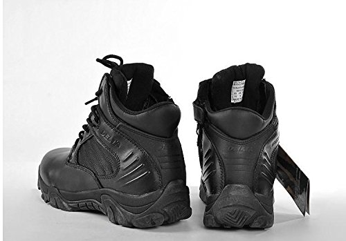 Giacca militare esercito tattico sport all' aperto campeggio escursioni lavoro combattimento lacci traspirante con cerniera a basso top Desert stivali scarpe in pelle nera BK