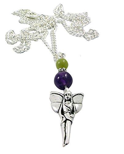 (Woodland Fairy Pendant with 18
