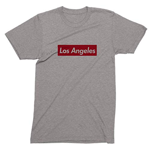 (Los Angeles Supr-me T-shirt -Lucky Calibear - Red)