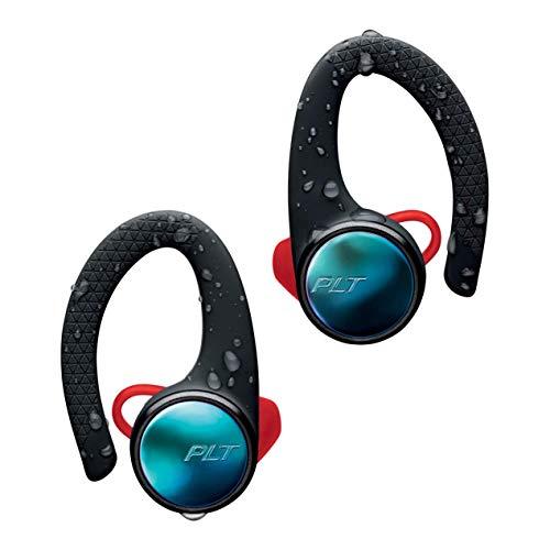 (Plantronics BackBeat FIT 3100 True Wireless Earbuds, Sweatproof and Waterproof in Ear Workout Headphones, Black (Certified)