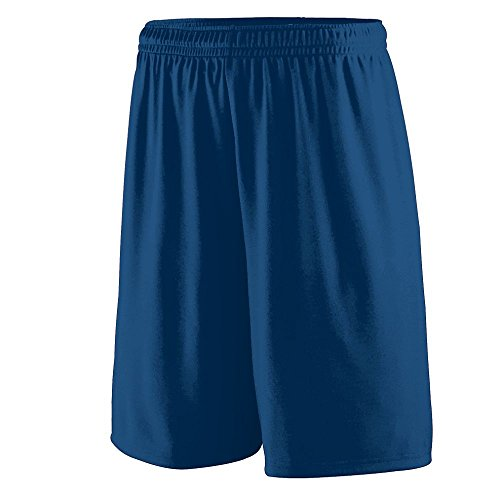 Augusta Sportswear MEN'S TRAINING SHORT L NAVY