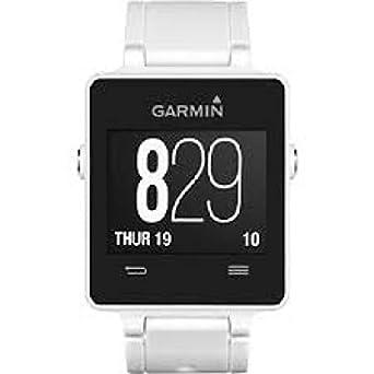 Uhr Garmin Herren 0100129701 Quarz (Batterie) Silikon Quandrante schwarz Armband Silikon
