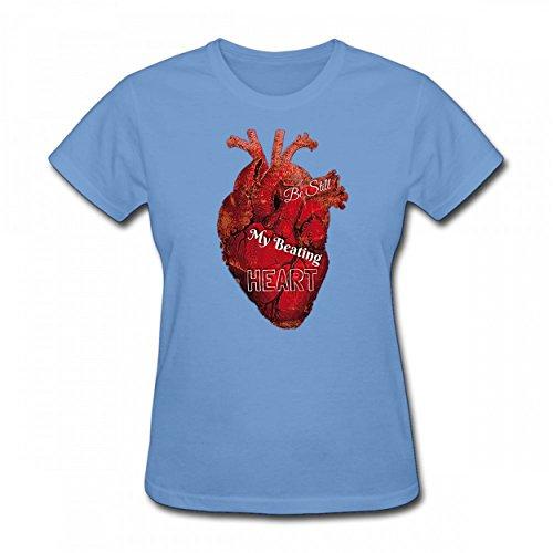 ZNndjq Be Still My Beating Heart Tshirt Trendy Print Cotton Women Tee Sky - Taylor Pendant Kit