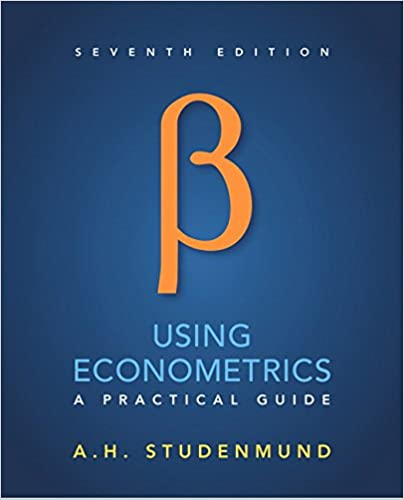Using Econometrics A Practical Guide 7th Edition