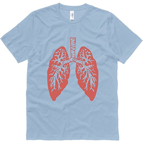 Healthy Lungs: Unisex Canvas Jersey T-Shirt