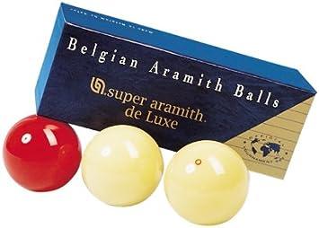 Aramith Juego Bolas Billar Carambola Super Luxe Caja Azul ...