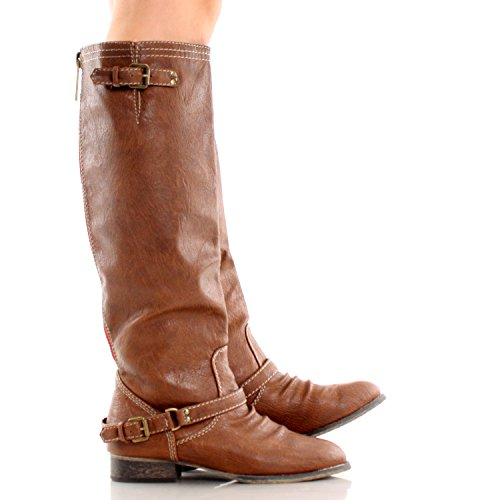 Breckelles Outlaw-81 Reitstiefel Tan-11