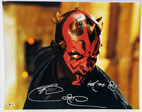 RAY PARK Signed Autograph STAR WARS
