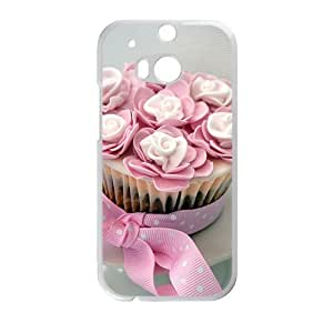 Sweet Flower Cake Fashion Personalized Phone Case For HTC M8