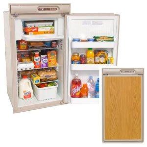 Norcold N510.3UR 5 cu. ft. 1 Door Refrigerator (3-Way AC/LP/DC, Right Hand Door with Taupe Trim & Upper Door Handle) (3 Ways Fridge)