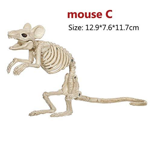 MSSJ Decoración de Halloween Accesorios de Hueso Animales ...