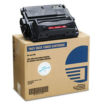 New-Troy 0281119001 - 0281119001 Compatible MICR Toner Secure, 19,500 Page-Yield, Black - - 0281119001 Toner Micr Compatible