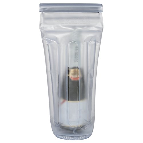 Travelon Inflatable Bottle Pouch, Clear, One Size