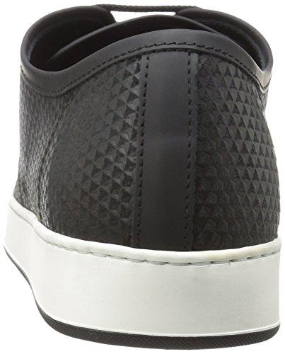 Bugatchi Heren Ischia Fashion Sneaker Zwart