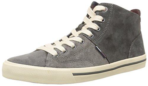 Tommy Hilfiger Varsity 3b Sneaker Uomo Grigio 096