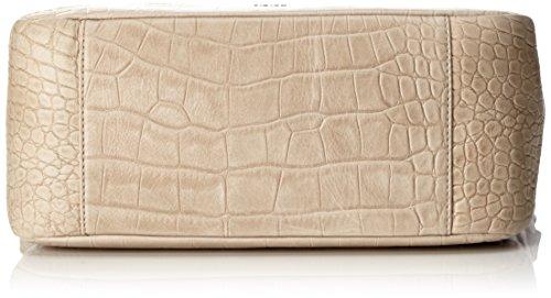 Joop! Croco Soft Athina Hobo Mhz, Borsa a spalla Donna, Beige (Nature), 14x28x33 cm (B x H x T)
