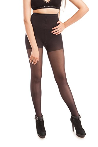 ITA-MED Sheer Pantyhose, Compression Support Stockings (23-30 mmHg)