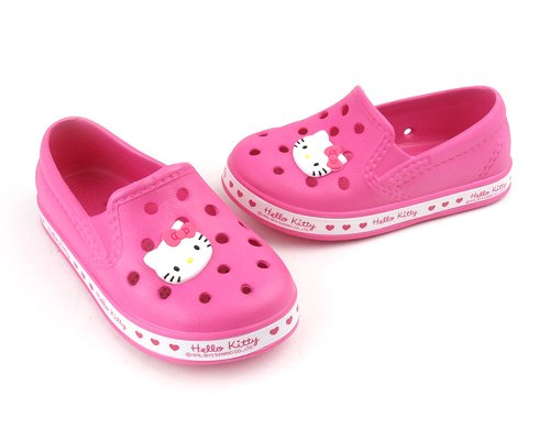VOVOshoes Hello Kitty Kids Girls Youth Toddler Crocs Clog Mule Shoes Sneakers (12 M US Little Kid)