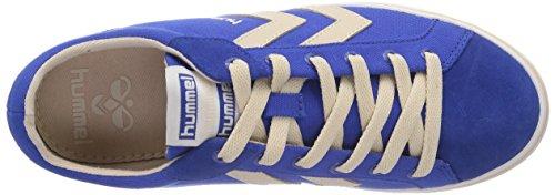 hummel HUMMEL DEUCE COURT SUMMER - zapatilla deportiva de lona unisex azul - Blau (Turkish Sea 7524)