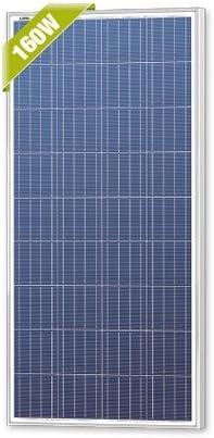 Newpowa Solar Mounting Bracket Universal Flat Mounts Aluminum Z Roof Wall Heavy Duty 2 Sets for(80W-200W)