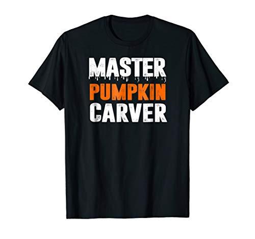 Funny Halloween Fall T-Shirt Master Pumpkin Carver