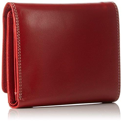 Picard Unisex-Erwachsene Porto Geldbörsen, 13x10x3 cm Rot (Rot)