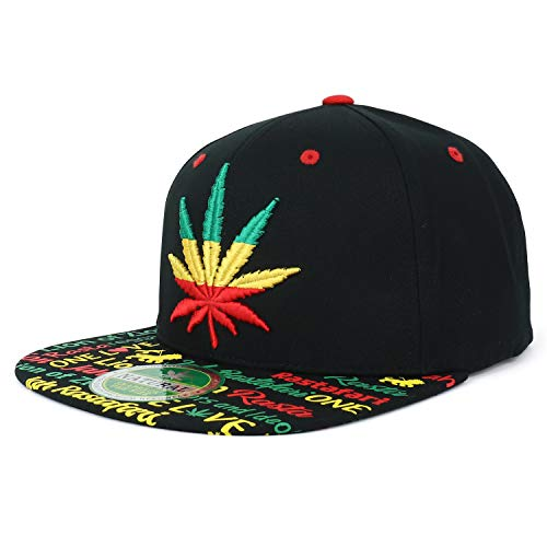 Trendy Apparel Shop Rasta Marijuana Leaf Weed 3D