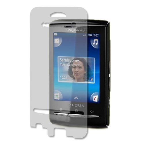 Sony Ericsson Xperia X10 mini Screen Protector, Skinomi TechSkin Full Coverage Screen Protector for Sony Ericsson Xperia X10 mini Clear HD Anti-Bubble - Ericsson Protector