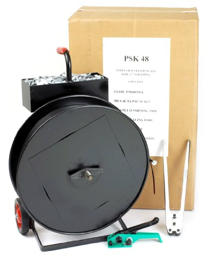 PAC Strapping PSK58 Extra Heavy Duty 5/8'' Polyester Strapping Kit by PAC Strapping Products