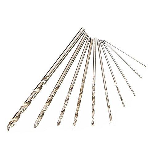 Twist Automatic Watch (HIOFFER Mini Micro Aluminum Hand Drill Bit with 10 Twist Drills Rotary Tools)