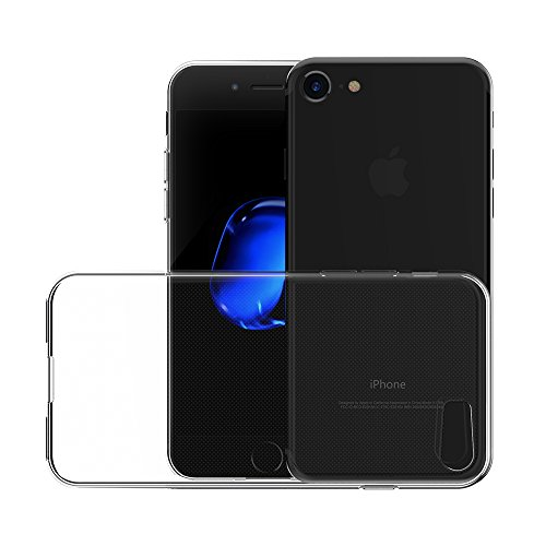 iPhone 7 Hülle, AICEK Transparent Silikon Schutzhülle für iPhone 7 Case Crystal Clear Durchsichtige TPU Bumper Handyhülle iPhone 7 Hülle
