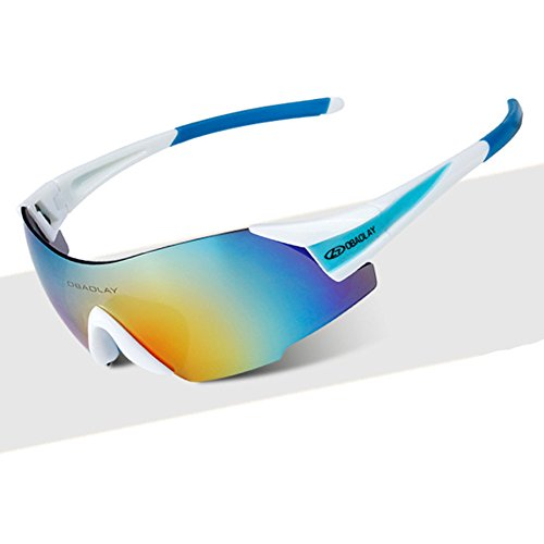 80s Costume Australia Online (A-Royal Outdoor Fashion UV Protect Cycling Sport Windproof Goggles Sunglasses(C4))