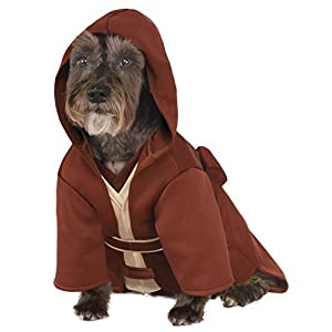 Rubies Costume Company Star Wars Classic Jedi Robe Pet Costume