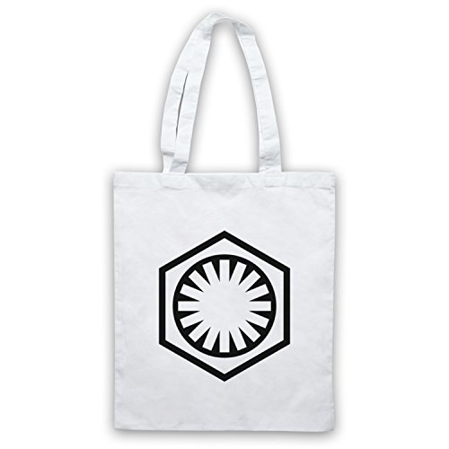 Star Wars First Order Logo Bolso Blanco