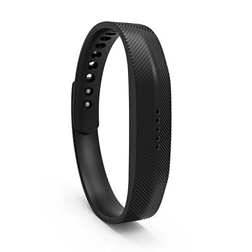 Flex Bracelet - BeneStellar 12 Colors Fitbit Flex 2 Band, Bracelet Strap Replacement Band for Fitbit Flex (Black, Small (4.92