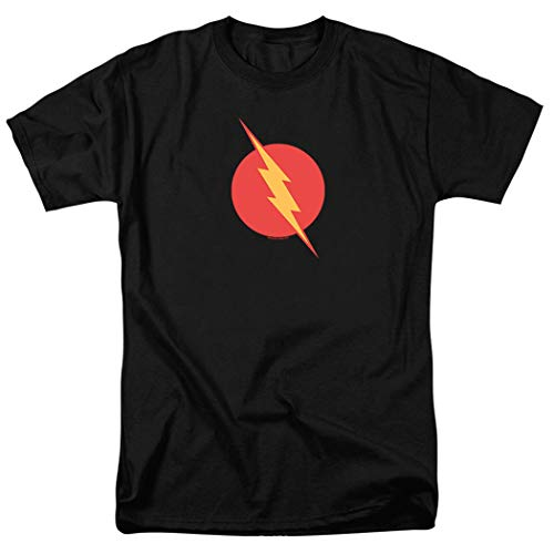 (Popfunk Reverse-Flash Logo T Shirt (Medium) Black)
