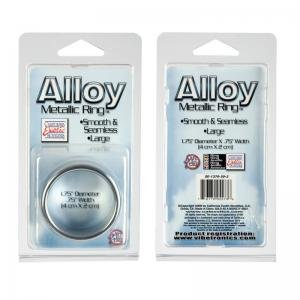 Alloy metallic ring - large (Package Of 7)