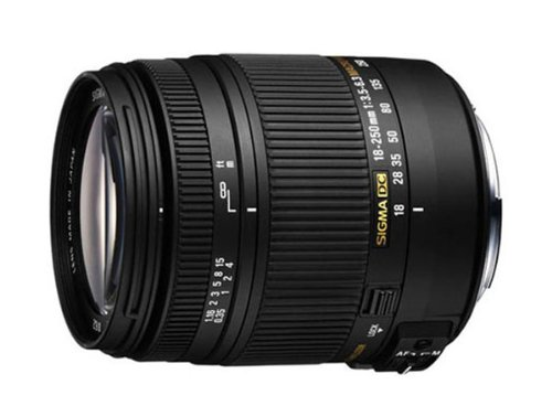 Sigma 18-250mm f/3.5-6.3 DC OS HSM IF Lens for Sony Digital