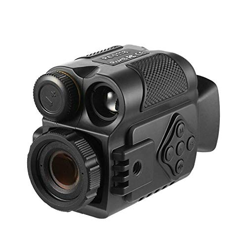 VERY100 Monocular Telescope, Night Vision Monocular 5X Digital Zoom Infrared Portable Night Vision Scope 200Yards Visible for Hunting Forest Observe Wildlife (Best Scope For 200 Yards)