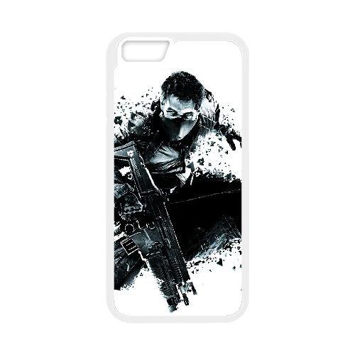 Syndicate 7 coque iPhone 6 4.7 Inch cellulaire cas coque de téléphone cas blanche couverture de téléphone portable EEECBCAAN08933