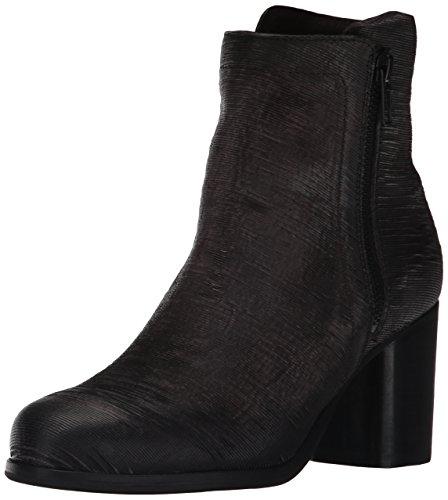 Frye Kvinna Addie Dubbel Zip Boot Träkol Skära Vintage Läder