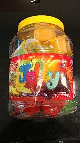 Viloe Jelly Natural Fruit Bottle UPC (35pcs) 49.38oz by Viloe