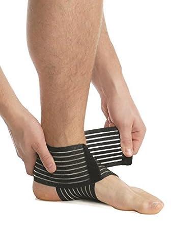 Sprunggelenk Bandage weiche Fixierung Band Kompression Fuß Gelenk ...