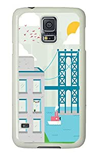 Samsung Galaxy S5 Brooklyn Day PC Custom Samsung Galaxy S5 Case Cover White
