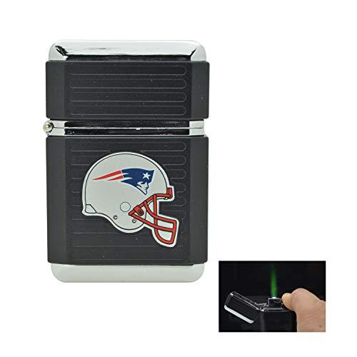New England Patriots NFL Butane Lighter with Tin ()